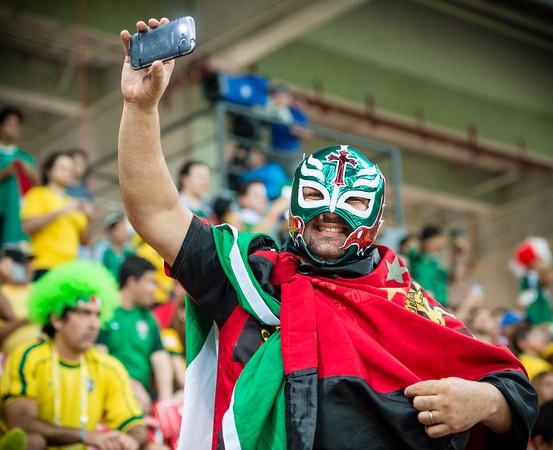 Luchador Takes a Selfie